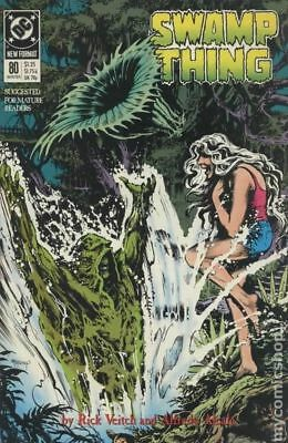 Swamp Thing (2nd Series) #80 1989 VF Stock Image