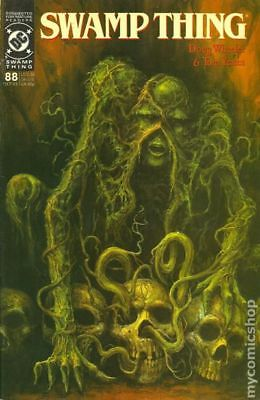 Swamp Thing (2nd Series) #88 1989 FN Stock Image