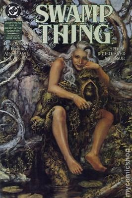 Swamp Thing (2nd Series) #100 1990 FN Stock Image