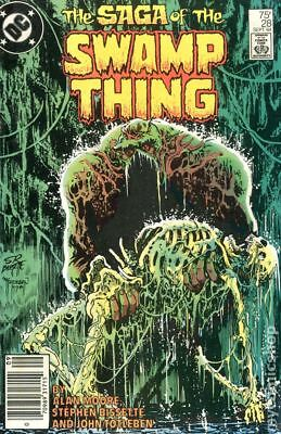 Swamp Thing (2nd Series) Mark Jewelers #28MJ 1984 VG+ 4.5 Stock Image Low Grade