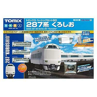 "Tomix 90166 JR Series 287 Express ""Kuroshio"" Starter Set N Scale w/Track No."