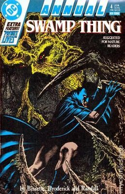 Swamp Thing (2nd Series) Annual #4 1988 FN Stock Image
