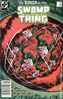 Swamp Thing (2nd Series) Mark Jewelers #29MJ 1984 VG+ 4.5 Stock Image Low Grade
