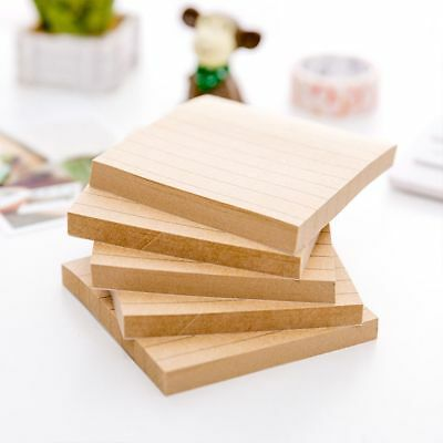 Pads Paper Office Kraft Planner Sticky Note Memo Pad Stickers School Supplies