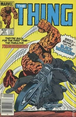 Thing (1st Series) #27 1985 FN Stock Image