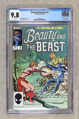 Beauty and the Beast (Marvel) #3 1985 CGC 9.8 1229623015