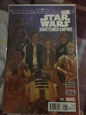 Journey To Star Wars The Force Awakens Shattered Empire Set Issues 1 2 3 4