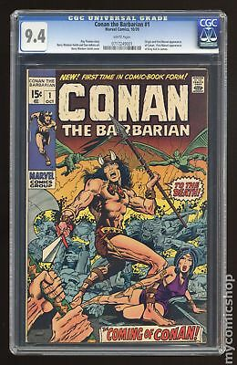 Conan the Barbarian (Marvel) #1 1970 CGC 9.4 0717249001