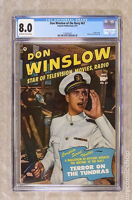Don Winslow of the Navy (Fawcett) #67 1951 CGC 8.0 1230285001