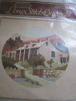 Semco Long Stitch Originals Kit COTTAGE GARDEN -3094 BNIB