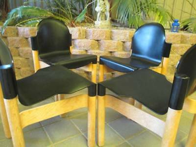 Gerd Lange Rare &collectable Thonet Flex Chairs Set Of 4 1970's