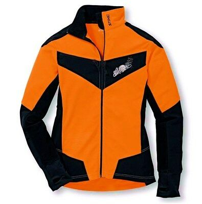Stihl Fleecejacke Dynamic Gr L 00883090056 Orange Schwarz