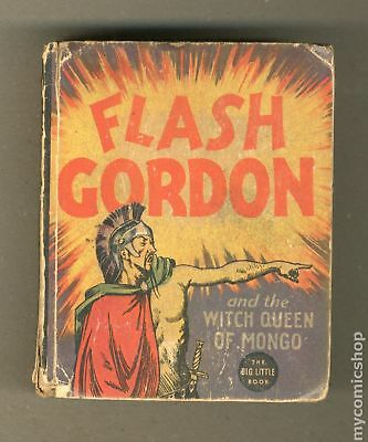 Flash Gordon and the Witch Queen of Mongo Big Little Book #1190 1936 GD 2.0