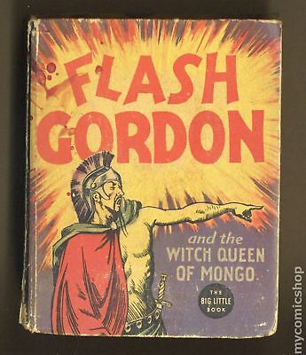 Flash Gordon and the Witch Queen of Mongo Big Little Book #1190 1936 GD/VG 3.0