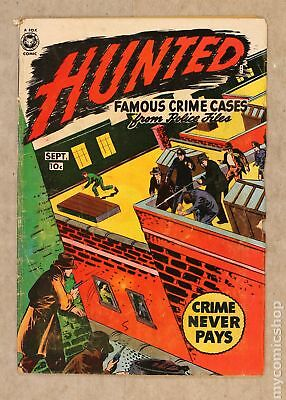 Hunted #2 1950 GD+ 2.5