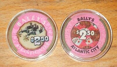 $2.50 Bally's Hotel CASINO CHIP - 1979 - ATLANTIC CITY, New Jersey