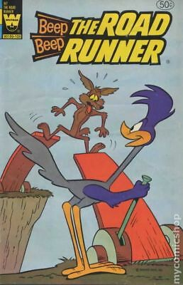 Beep Beep The Road Runner (Whitman) #97 1981 VG 4.0 Stock Image Low Grade