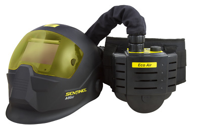 Esab Sentinel A50 Welding Helmet Mask 5-13 Air Fed With Eco Air Complete!
