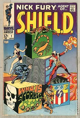 Nick Fury Agent of SHIELD (1st Series) #1 1968 VG- 3.5
