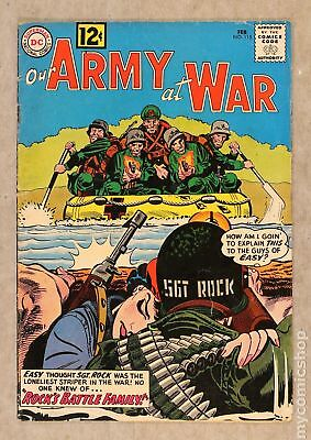 Our Army at War #115 1962 VG 4.0