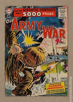 Our Army at War #49 1956 VG 4.0