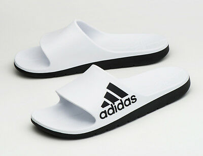 98268a45d12 Adidas Aqualette Cloudfoam (CM7927) Slides Sports Sandals Slippers Flip- Flops