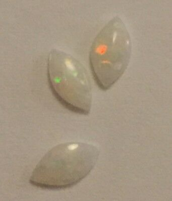 Opal Gemstone Marquis X 3 Pieces 4 X 2 mm Natural Solid Opal