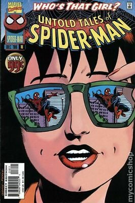 Untold Tales of Spider-Man #16 1996 VG Stock Image Low Grade