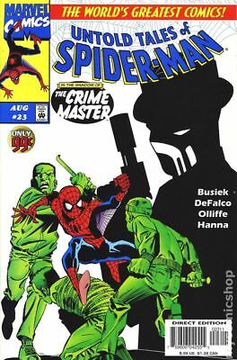 Untold Tales of Spider-Man #23 1997 FN Stock Image