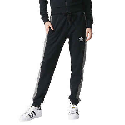 ADIDAS ORIGINALS WOMEN'S CUFFED TRACK PANTS Dust PinkWhite