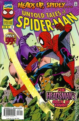 Untold Tales of Spider-Man #18 1997 VF Stock Image
