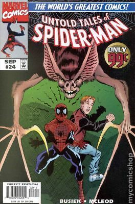 Untold Tales of Spider-Man #24 1997 VF Stock Image