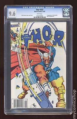 Thor (1st Series Journey Into Mystery) #337 1983 CGC 9.6 1263170003