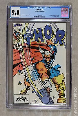 Thor (1st Series Journey Into Mystery) #337 1983 CGC 9.8 0305497008