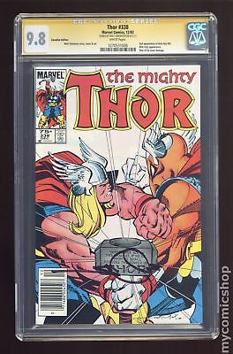 Thor (1st Series) Canadian Price Variant #338 1983 CGC 9.8 SS 1270531006