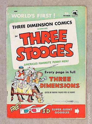 Three Stooges (St. John) #2A 1953 3D Glasses Included VG- 3.5