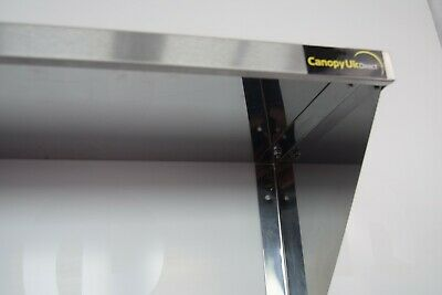 Stainless Steel Shelf 1200x350mm Commercial Kitchen Workshops and Stores