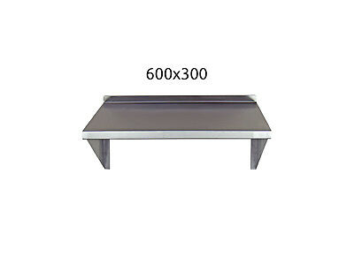 Stainless Steel Shelf 600x300mm Commercial Kitchen Workshops and Stores