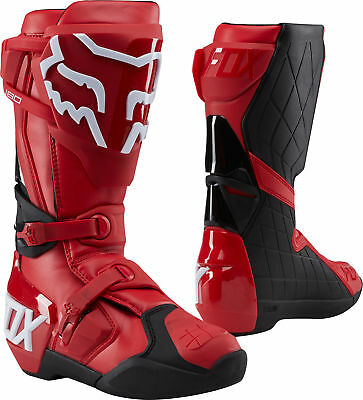 Fox Racing 180 Mens MX Offroad Boots Red