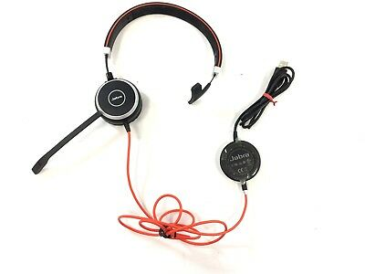 JABRA EVOLVE 40 MS Mono Wired Stereo USB Headset HSC017 With ENC010