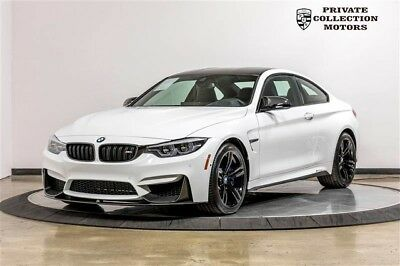 2018 BMW M4 Base Coupe 2-Door 2018 BMW M4 MSRP $86,575 1 Owner Clean Carfax 3200 Miles