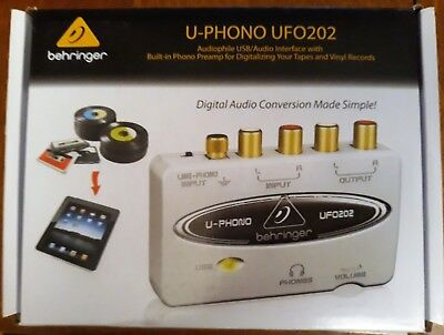 INTERFACE, USB/AUDIO, UFO202 UFO202 By BEHRINGER