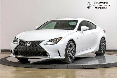 2015 Lexus RC  2015 Lexus RC 350 1 Owner Clean Carfax Low Miles Pristine