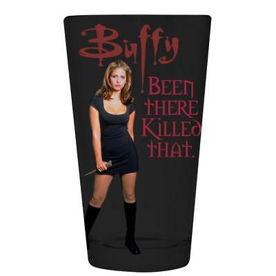 Buffy The Vampire Slayer - Been There Killed That Pint Glass