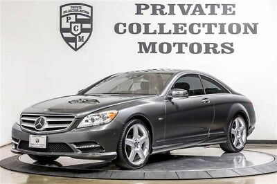 2011 Mercedes-Benz CL-Class 4Matic Coupe 2-Door 2011 Mercedes-Benz CL550 2 Owner Clean Carfax Low Miles Well Kept