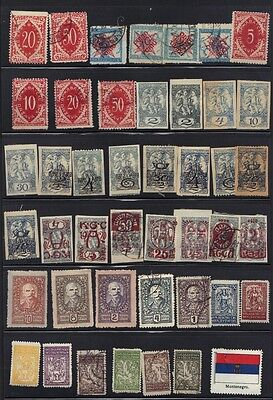 YUGOSLAVIA & AREA 1918-1930's COLLECTION OF HUNDREDS MINT & USED INC OCCUPATIONS