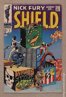 Nick Fury Agent of SHIELD (1st Series) #1 1968 GD/VG 3.0