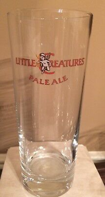 Little Creatures Pale Ale Beer Glass-- Brewed In Australia-Used