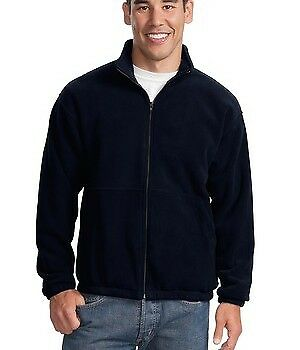 Men's Port Authority JP77 Fleece Full Zip Jacket - Navy - (Size - 4-XL)
