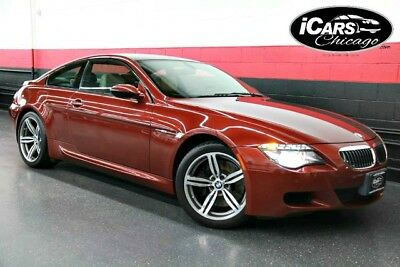 2008 BMW M6 Base Coupe 2-Door 2008 BMW M6 Coupe 2-Owner Navigation 44,320 Miles 111,275 MSRP Heads Up Serviced